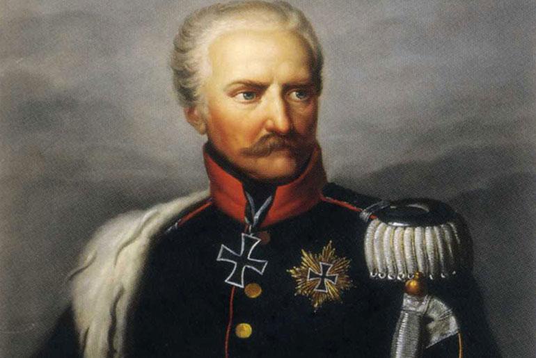 Count Gebhard von Blücher. Image via: Wikipedia.
