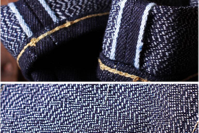 Fullcount x Pronto PROXFC16 Indigo x Indigo Jeans