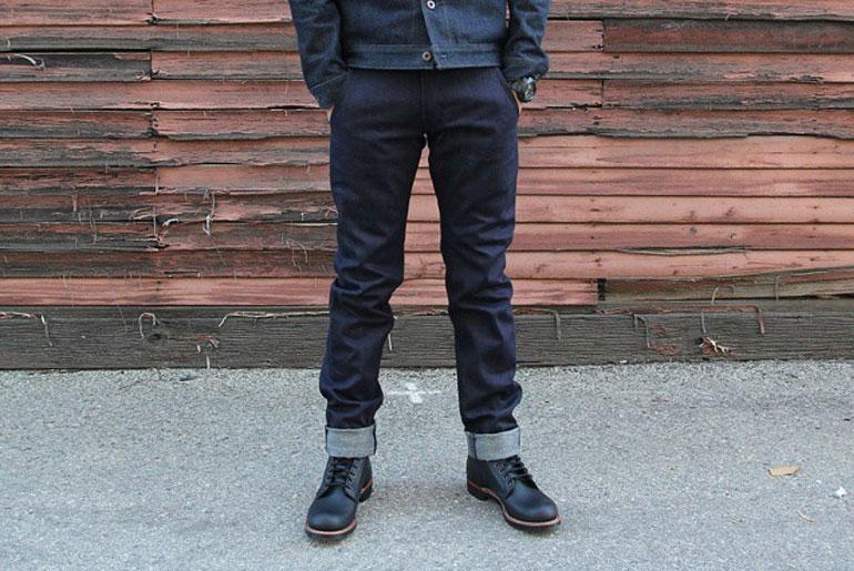 Railcar Fine Goods X018 Denim Trouser