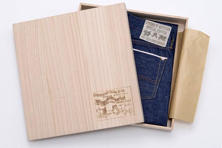 Studio D'Artisan 35th Anniversary Jeans