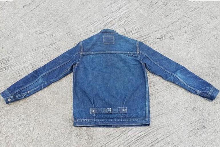 Fade Friday – Fullcount & Co. 2737 Jacket (9 months, 1 soak, 1 wash)