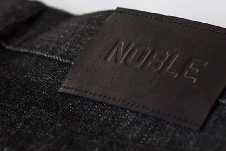 Noble Denim Small Batch Black Selvedge Jeans