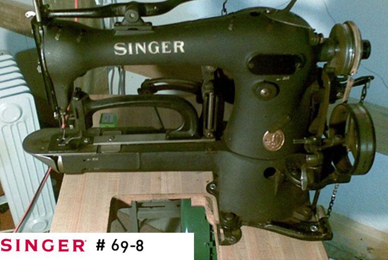 SINGER 69-8 Bar Tack Machine