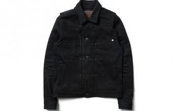 Freenote Denim Jacket Front Flat