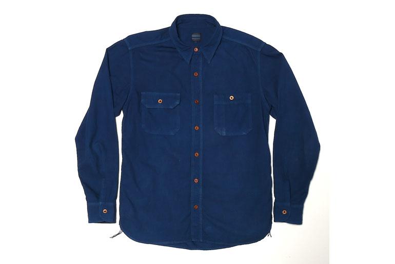 Okayama-denim-x-Momotaro-Work-Shirt