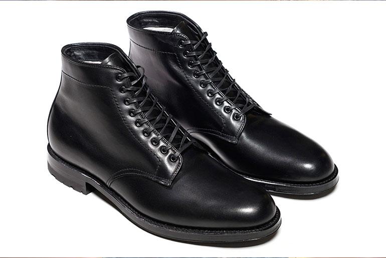 Alden for Epaulet Blackjack Plain Toe Boots