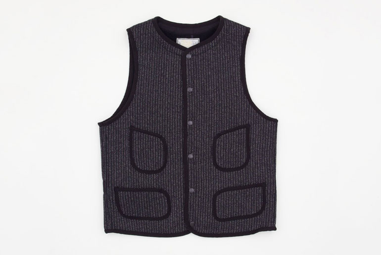 Brown's Beach vest by The Real McCoy's.