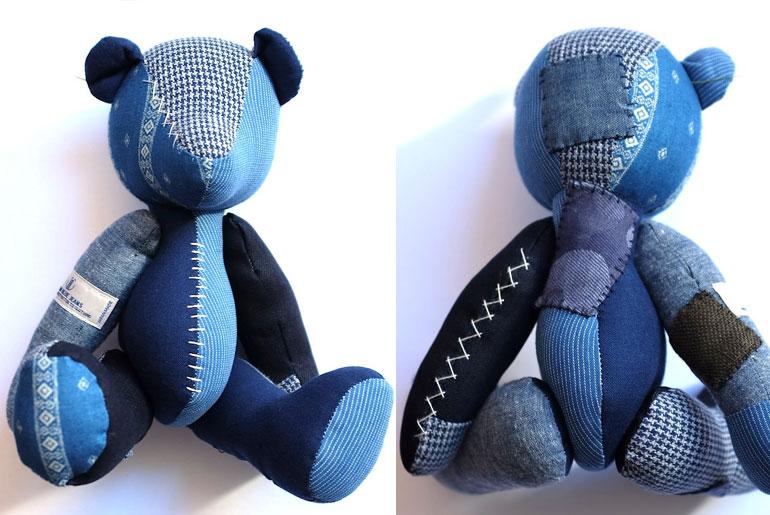 Japan Blue Denim Bear and Momotaro Banner Photoshop Contest