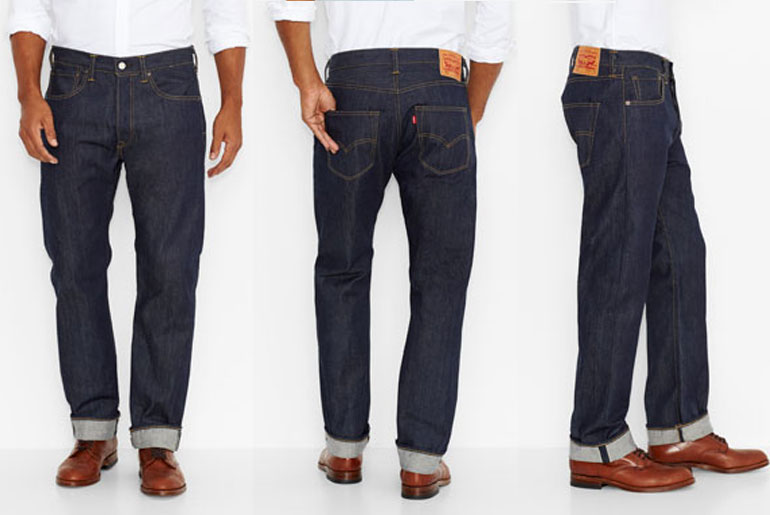 Levi's Launches Selvedge Made In USA Collection