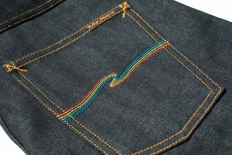 Nudie Jeans x Oi Polloi Grim Tim Rainbow Warrior