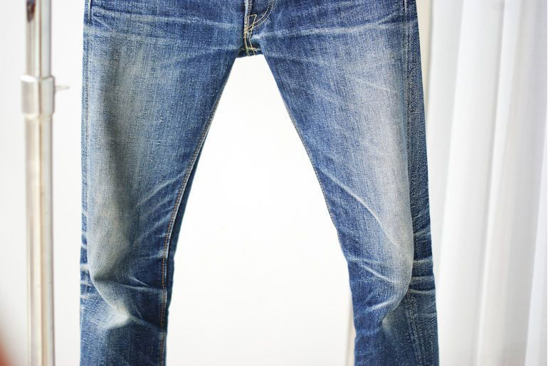 Fade Friday – The Strike Gold 1105 (16 months, 8 washes)