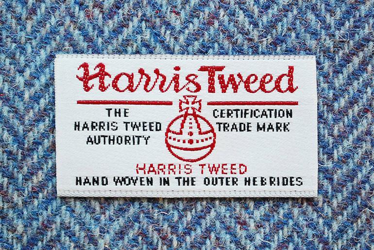 Harris Tweed Behind the Orb – Textile Tales