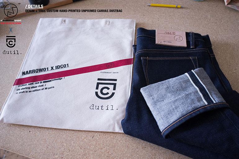 IDC x Doublewood Narrow 01 Jeans