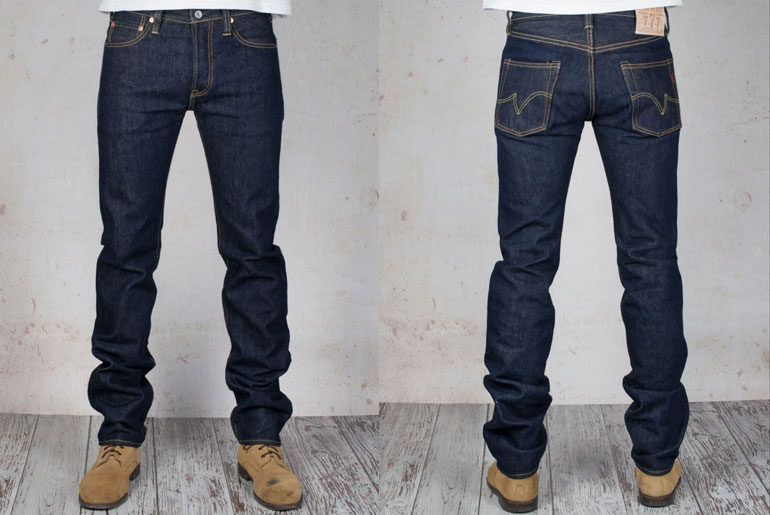 Iron Heart 777S 21oz. Slim Tapered Jeans