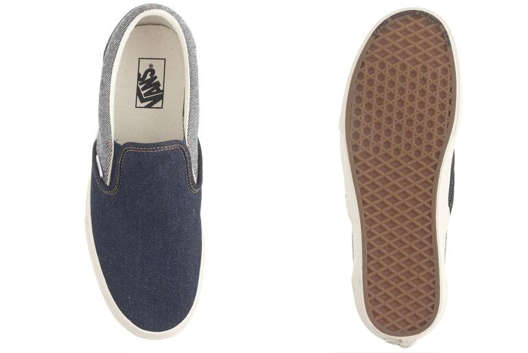 Vans for J.Crew Denim Sneakers