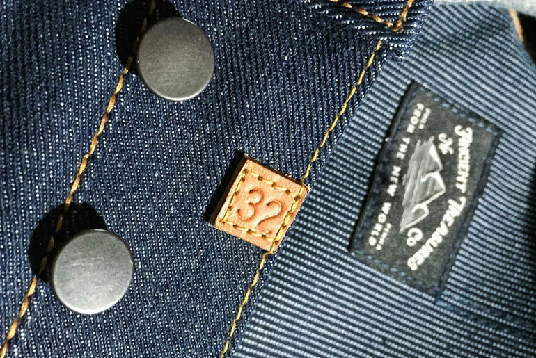 Norman Porter x Old North Left Hand Twill Jeans