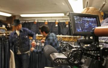 Shooting Mr. Fujihara in Berberjin, Tokyo
