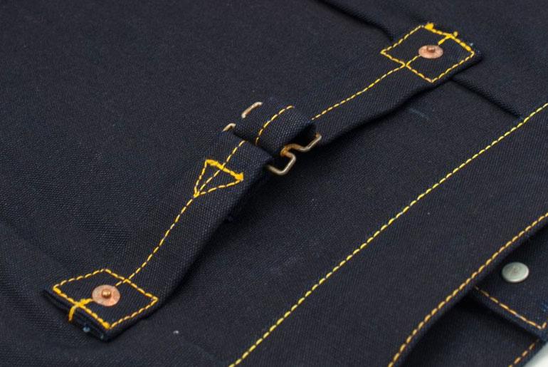 Iron Heart x Vater & Sohn Indigo Duck Type I Jacket