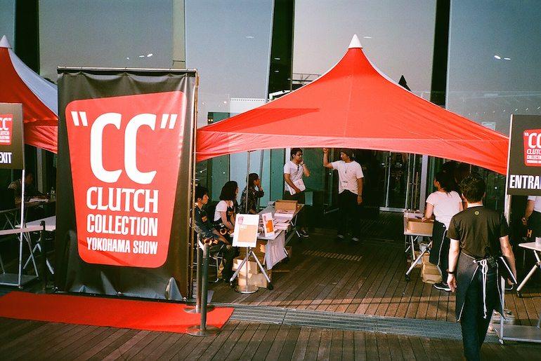 Entrance of Clutch Collection 2015 Yokohama