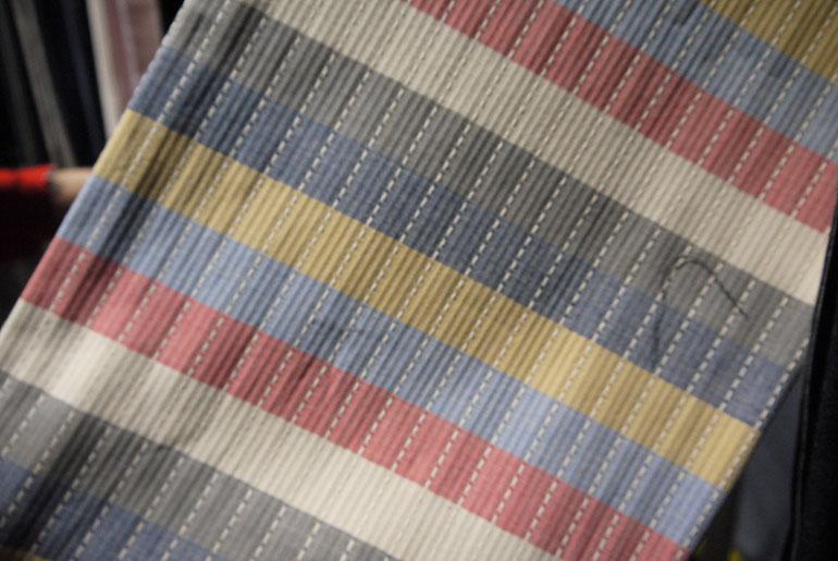 Collect Mills 10 oz. muli-color sashiko border
