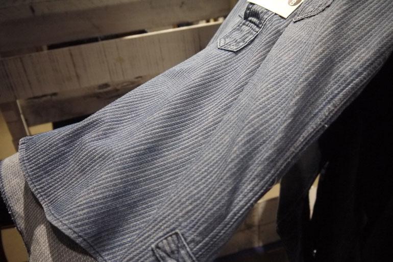 Cone Mills Corded Indigo Shirt
