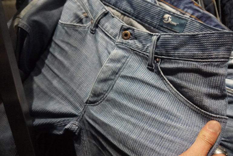Cone Mills Corded Indigo Pants