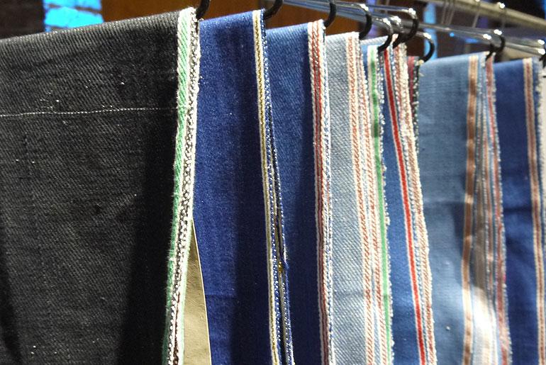 Seven Senses fabric samples