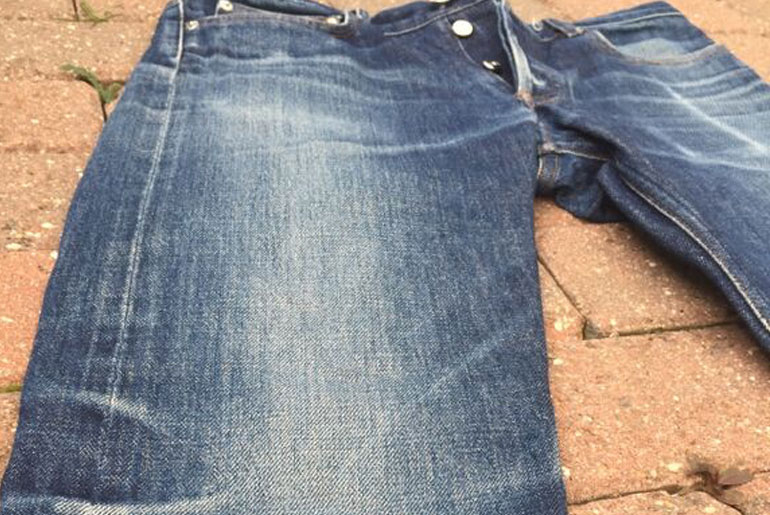 Fade of the Day – A.P.C. Petit Standard (1.5 years, 2 washes, 2 soaks)