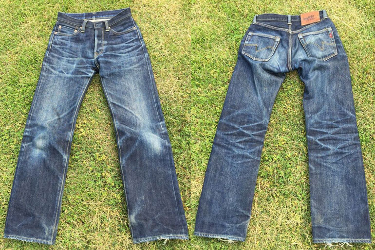 Fade of the Day – Iron Heart 634S (17 months, 1 wash, 2 soaks)