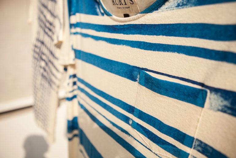 Kurt's Amsterdam Indigo and Screen Printed Hemp T-Shirts