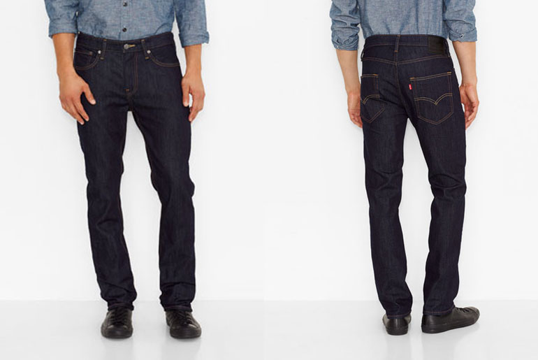 Fade of the Day – Levi's 511 Commuter (3 years, 1 wash)