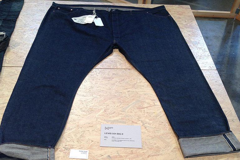 """Original Levi's Big E 501 Lot #405 - waist 76"""", inseam 45"""""""