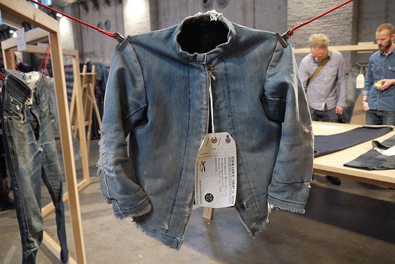 Amish Denim Jacket, found at a vintage store in U.S.; circa 1930-40
