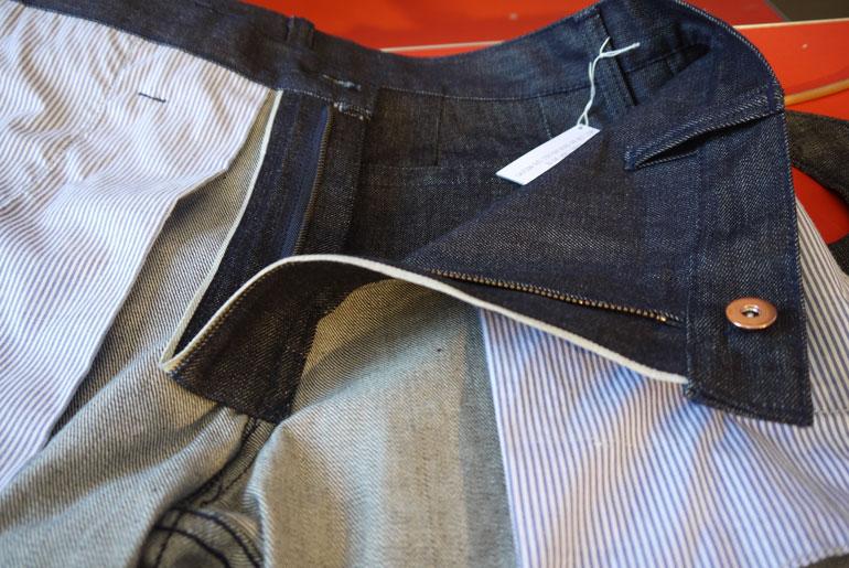 Dyemond Goods one-piece zipper fly