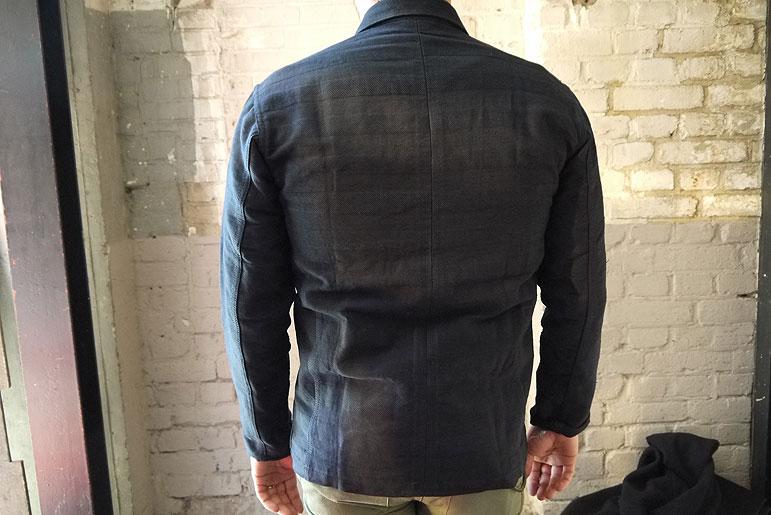 Dyemond Goods 10 oz. selvedge-lined four-weave work coat