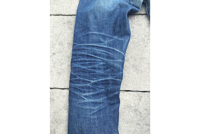 Fade of the Day – A.P.C. Petit New Standard (1 Year, 2 Washes, 2 Soaks)
