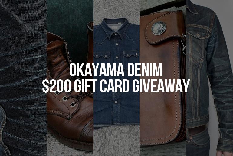 Okayama Denim Giveaway