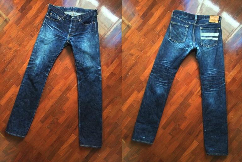 Momotaro x Japan Blue 0700SP(14 Months, 2Washes, 3Soaks)