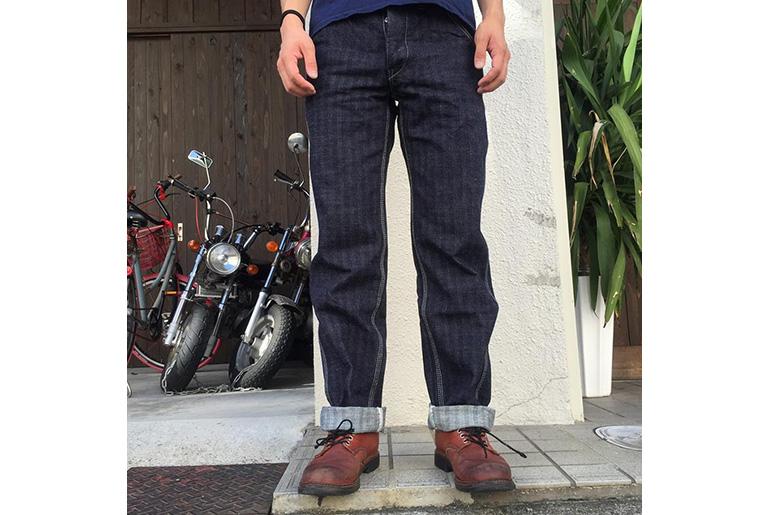 Samurai SM610DX-P Herringbone Selvedge Denim Work Pant