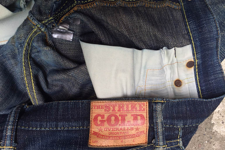 Fade of the Day – Strike Gold 5105 (9 Months, 4 Washes, 4 Soaks)