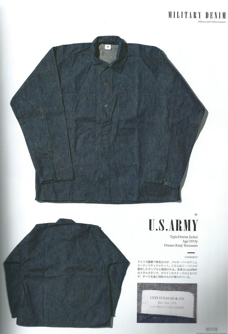 Vintage US Navy denim