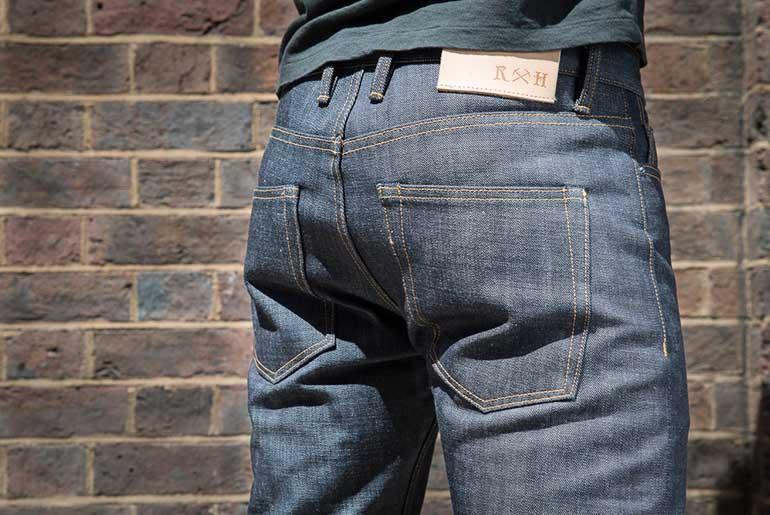 3sixteen x Rivet & Hide RH15 Slim Tapered Jean