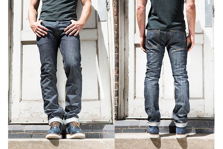 3sixteen x Rivet & Hide RH15 Slim Tapered Jean