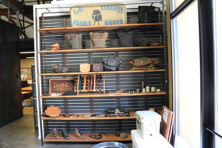 tanner goods visit - 01