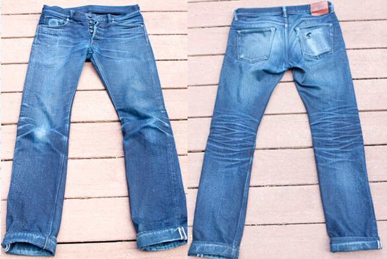 Fade Friday – Pure Blue Japan XX-012 Contest Edition (7 Months, 4 Washes, 2 Soaks)