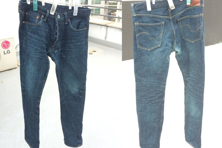 Fade of the Day – ONI 527ZR (4 Months, 1 Wash)
