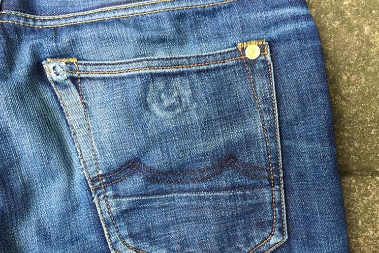 Fade of the Day – Kings of Indigo Clovis 12 oz. Organic (17 Months, 1 Wash)