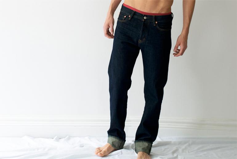Shreddies Men's Flatulence Blocking Fart Jeans