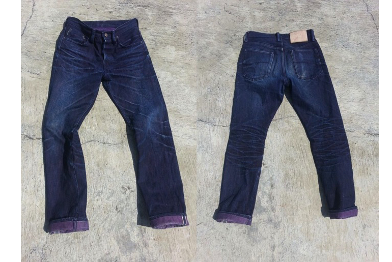 Fade of the Day – WarpWeft Company SP-06 (7 Months, 1 Wash)