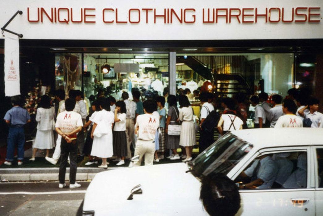 Uniqlo First store